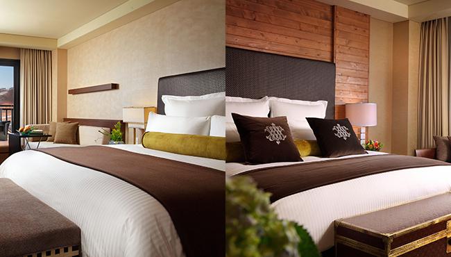 전세계 5성급 유명 호텔 및 리조트 그룹의 씰리 침대